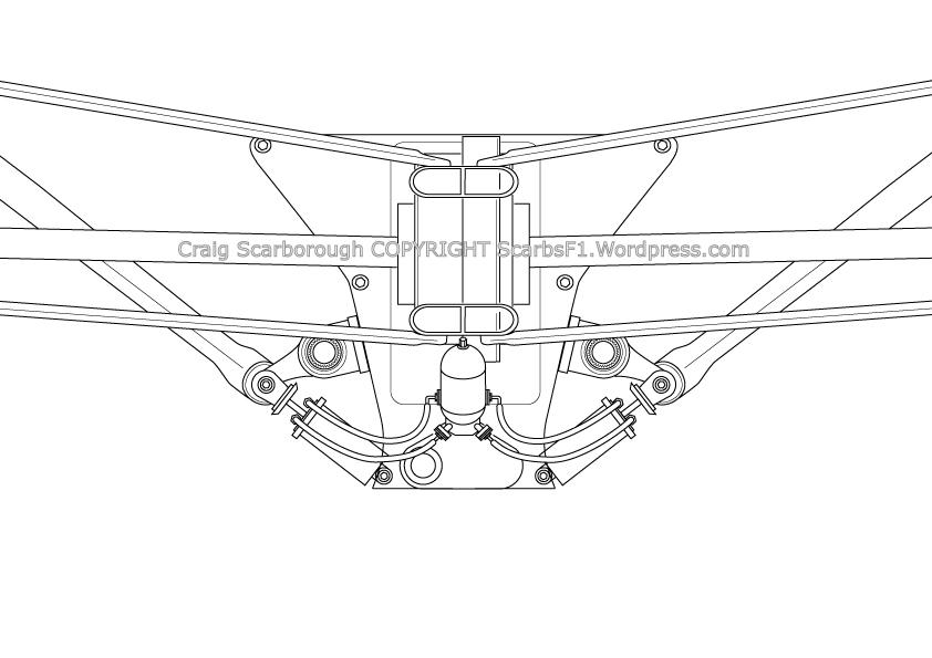 f1 rear suspension
